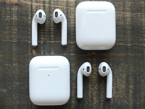Apple AirPods 2nd Generation Left Right or Charging Case Box Replacement Only $34.98