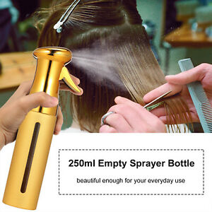 New 250ml Empty Sprayer Bottle Barber Styling Hair Spray Bottle Water Sprayer a