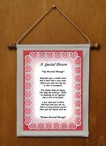 A Special Person - Personalized Wall Hanging (722-1)