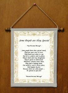 Some People Are Very Special - Personalized Wall Hanging (998-1)