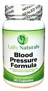 Blood Pressure Support Formula 90 count Best High Blood Pressure Pills ...