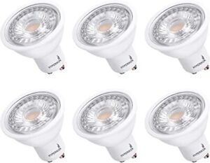 Hyperikon MR16 GU10 LED Bulb Dimmable 6.5W (50W Equivalent) 3000k Soft White