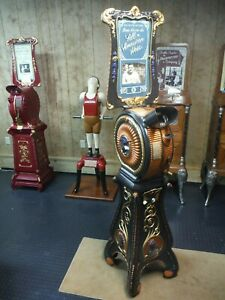Restored Babe Ruth Indian Mutoscope