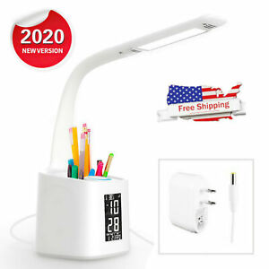 Dimmable Touch Sensor LED Light Desk Table Reading Book Lamp Eye-protection US