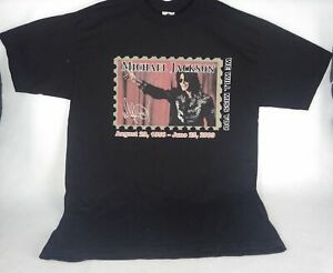 Michael Jackson We Will Miss You Concert Shirt Medium Excellent