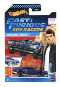 Netflix Hot Wheels Fast Furious Spy Racers Set of 4