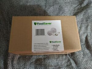 FoodSaver Jar Sealers w/Accessory Hose - Wide and Regular Mouth - Brand New