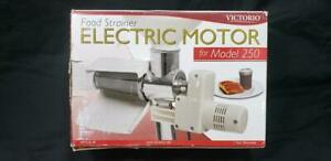 VICTORIO Food Strainer Electric Motor for Model 250 Item VKP250-M