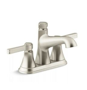 Kohler R99910-4d1-Bn Vibrant Brushed Nickel Georgeson� Two Handle Centerset Lava
