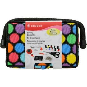 Singer Sewing Basket Kit with Accessories 7.25quot; x 3.5quot; x 5 $30.19