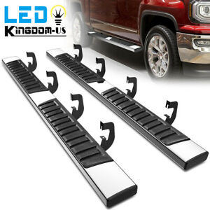 Running Board for 2007 2018 Chevy Silverado 1500 Crew Cab 6quot; Nerf Bars Side Step