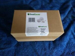 FoodSaver Wide Mouth & Regular Jar Sealers w/Hose - New - Fast Shipping