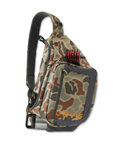 Orvis Safe Passage Guide Sling Pack Brown Camo