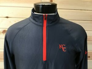 Under Armour Pullover Jacket Mens M Athletic Gray Zip KCC Golf Country Club $24.95
