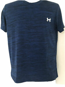 Under Armour Mens Athletic Training UA Tech 2.0 T Shirt S S NWT NAVY $12.95