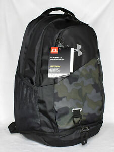 New Under Armour Hustle 4.0 Laptop Backpack Desert Sand Black $29.99