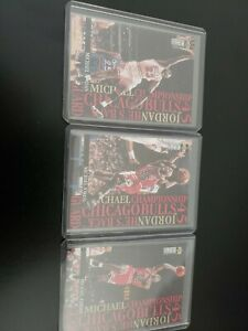 1995 Upper Deck Collector's Choice #M3,M4,M5 Michael Jordan Bulls 3 card lot NBA
