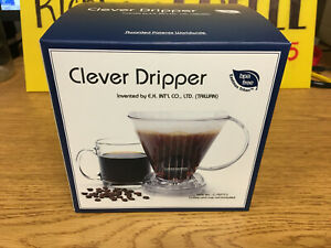 Clear Large Clever Dripper Coffee Maker C-70777