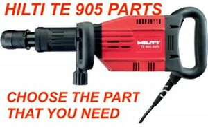 HILTI TE 905 AVR HAMMER DRILL PARTS, CHECK THE PART YOU NEED PREOWNED, FAST SHIP