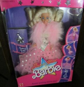 Mattel Superstar Barbie 1988 Mint Doll