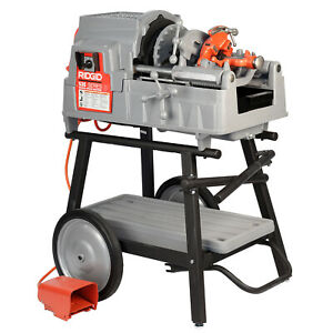 Reconditioned RIDGID® 535 V3 Pipe Threading Machine with 150A Cart 811A Die Head  $4,199.99