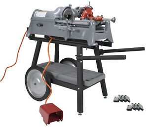 Reconditioned RIDGID® 535 V1 Pipe Threader with Cart Die Head and Extra Dies  $3,399.99