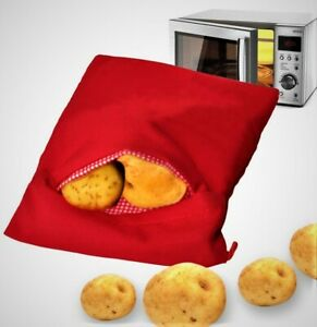 Potato Express Bag for baking potatoes in the Microwave