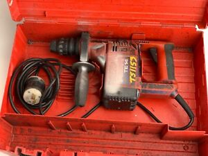 HILTI TE 14 Rotary Concrete Hammer Drill 120V Corded twist lock plug with Case