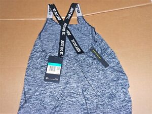 Nike Girls Dri Fit Loose Fit Training Strappy Tank Top Shirt BLK BQ6438 New XL $15.00