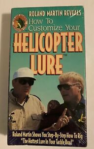 How to Customize Your Helicopter Lure VHS Movie Roland Martin Bass Fishing New