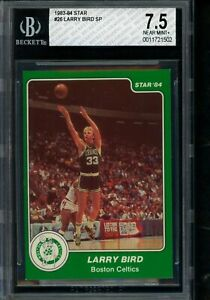 1983 84 Star #26 Larry Bird SP BGS 7.5