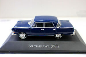 New 1 43 Scale Diecast Model Car Borgward 230GL 1967 For collection