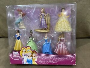 DISNEY COLLECTIONS PRINCESS FIGURINE PLAYSET SET OF 7 NEW GIFT RECEIPT $25.00