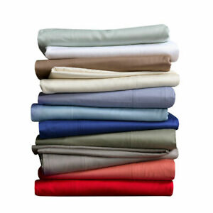 Flat Sheet Egyptian Cotton 600 Thread Count Luxurious Sheet( All Size/All Color)