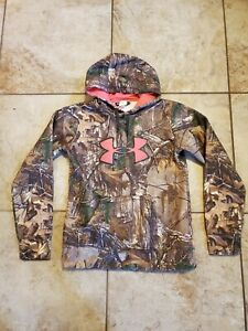 Womens Under Armour x Real Tree Camo Hoodie Size Small $29.97