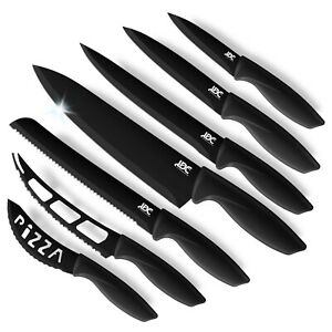 Kitchen Knife Set 7 Pieces Stainless Steel Sharp Kitchen Knives Set for Chefs