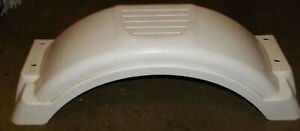 New Plastic Replacement Small Trailer Fender White 8quot; 12quot; Tires