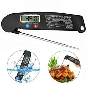 Digital Meat Thermometer Instant Read Foldable for Kitchen BBQGrill Fry Baking ℃