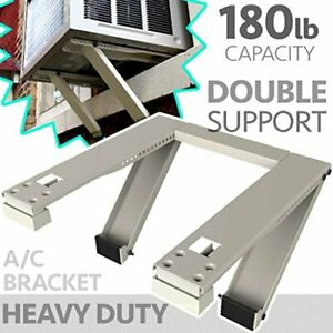 Universal Window Heavy-Duty Window AC Support - Support Up to 180 lbs.