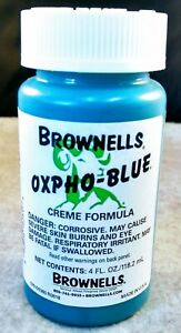 Oxpho Blue Professional Grade Cold Gun Blue CREME. It Works Great Best Price $11.72