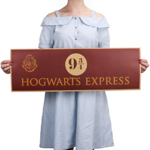 Hogwarts Express 9 3 4 Harry Potter Movie Paper Poster Wall decoration 72x24cm