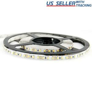 Flexible 600 LED Strip Light Super Bright Double Density SMD 2835 5M / 16 Feet