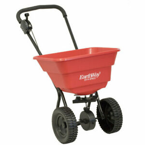 EarthWay Push Broadcast Spreader 80 Lb Capacity With 10