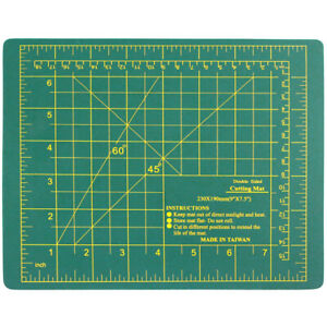 Small Self Healing Double Sided Thick Cutting Board Mat 9 Inch x 7.5 Inch