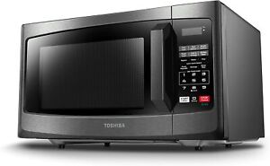 Toshiba EM925A5A-BS Microwave Oven with Sound On/Off ECO Mode and LED Microondas