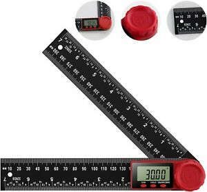 Digital Angle Finder Protractor Ruler Digital Goniometer 200mm 360 °LCD Display $11.99