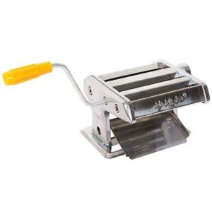 Hand Cranking 6quot; Pasta Maker Roller Machine Noodle Spaghetti Stainless Steel