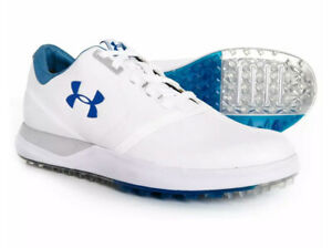 Under Armour Performance SL Spikeless Golf Shoes White 1297176 141 Womens Sz 9.5 $39.99