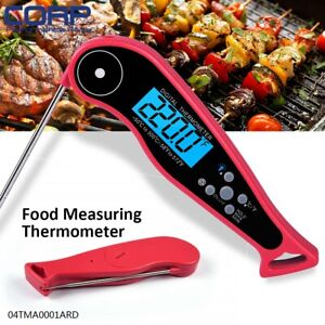 Waterproof Digital Instant Read Meat Probe Folding Thermometer For Cooking