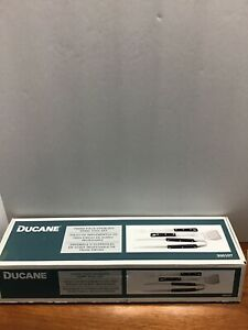 DUCANE THREE PIECE STAINLESS STEEL BBQ GRILL TOOL SET - NEW